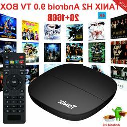 2020 TANIX TV Box Quad Core 2GB+16GB WiFi 4K Smart Media Pla