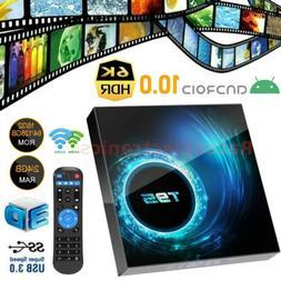 2021 New T95 Smart Android 10.0 TV Box Quad Core 6K WIFI HD