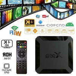 Android 10.0 TV Box X96Q Quad Core HD 4K Media Stream Player