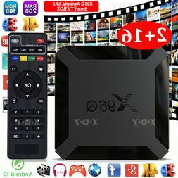 Android 10.0 16GB TV BOX Quad Core WIFI Media Player 4K 3D M