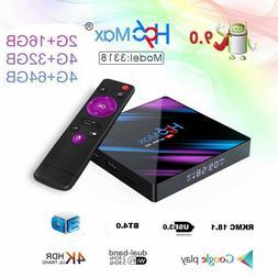 H96 Max Android 9.0 Smart TV Box 16-64G Quad Core 4K HD 5.8G