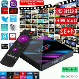 Smart TV BOX H96MAX Android 10.0 4GB 64GB Dual WIFI RK3318 4