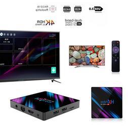 Smart TV BOX H96Max Android 9.0 64 Bit Quad Core 4K Ultra HD