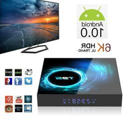 T95 Android 10.0 Smart TV BOX Quad Core 6K Smart WIFI HDMI M
