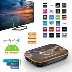 US 128GB Android 11.0 Quad-core TV BOX 4K 2.4G 5G Wifi HDMI